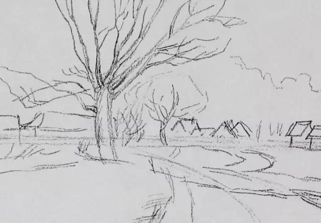 风景素描 02精炼的作画步骤 城院学堂
